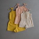 Summer Romper For Kids In Spectrum Cotton