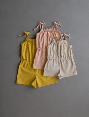 Summer Romper For Kids In Spectrum Cotton | Purl Soho