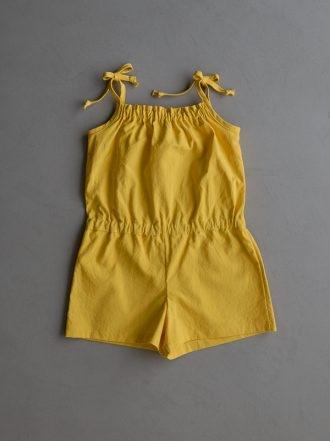 Summer Romper For Kids In Spectrum Cotton   Purl Soho