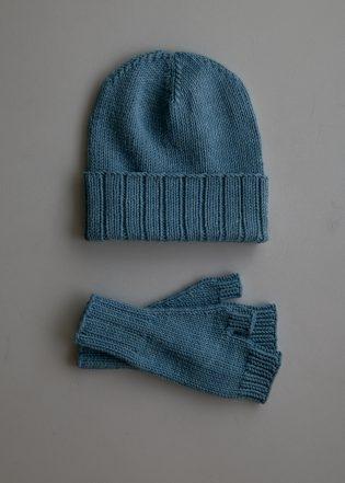 Wide Rib Hat + Hand Warmers | Purl Soho