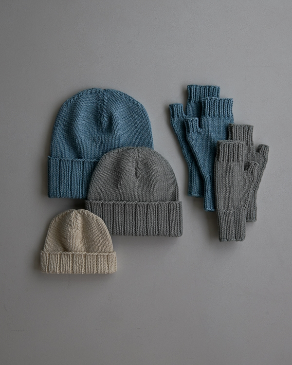 Cozy Ribbed Hat and Hand Warmers Set