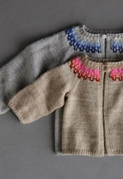 Baby Colorwork Cardigan Pattern Download