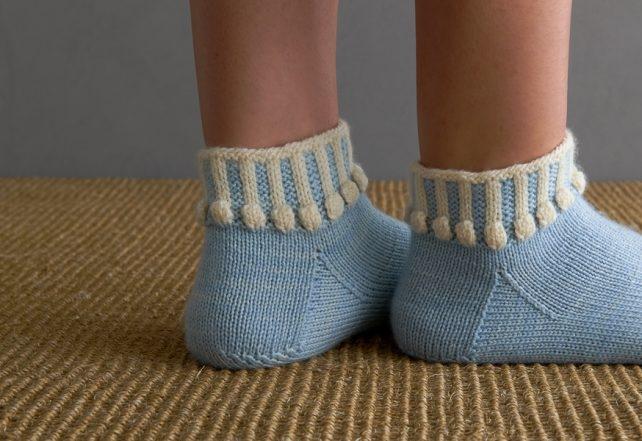 Ainur Berkimbayeva For Purl Soho: Hop, Skip + A Jump Socks | Purl Soho