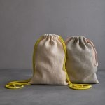 Knit Drawstring Bag + Backpack