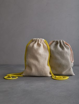 Knit Drawstring Bag + Backpack | Purl Soho