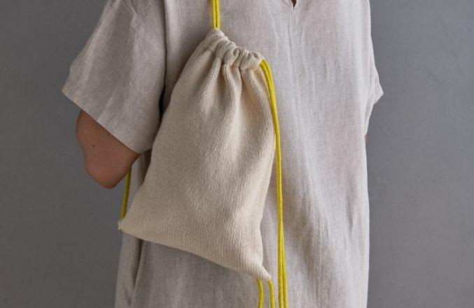Knit Drawstring Bag + Backpack | Purl Soho