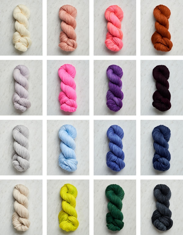 Easy Heel Colorblock Socks In New Colors | Purl Soho