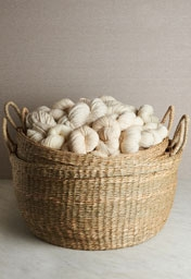 Set Of Handwoven Floor Baskets