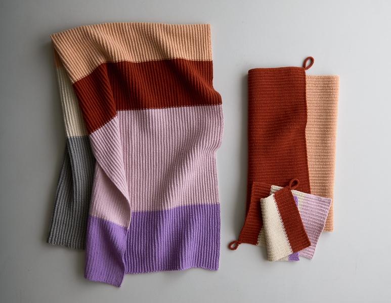 Stripes + Blocks Towel Set | Purl Soho