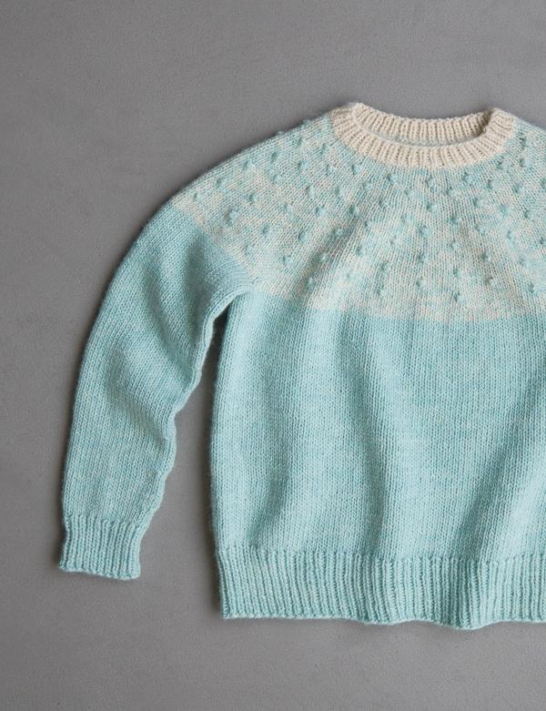 Bobble Yoke Sweater In New Colors | Purl Soho