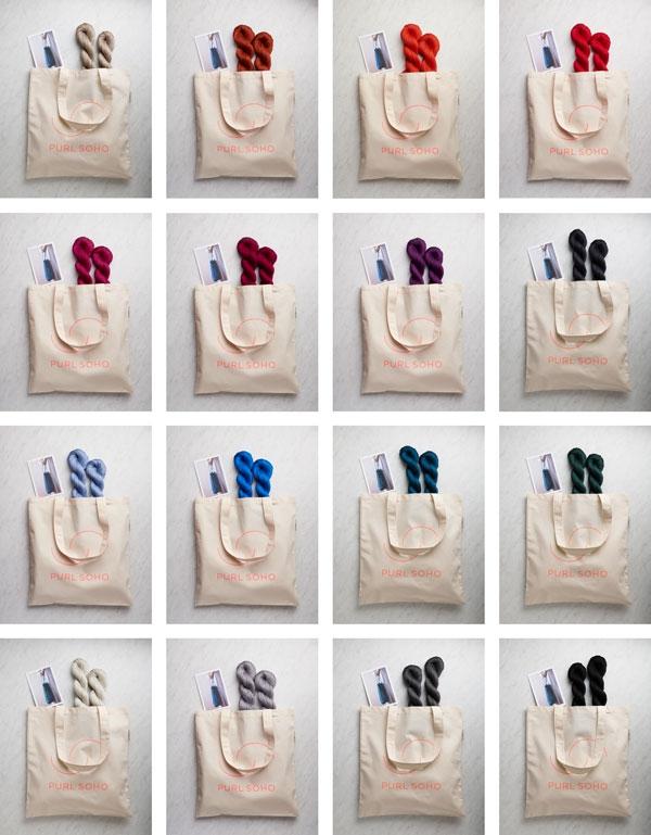 Knit Linen Market Bag | Purl Soho