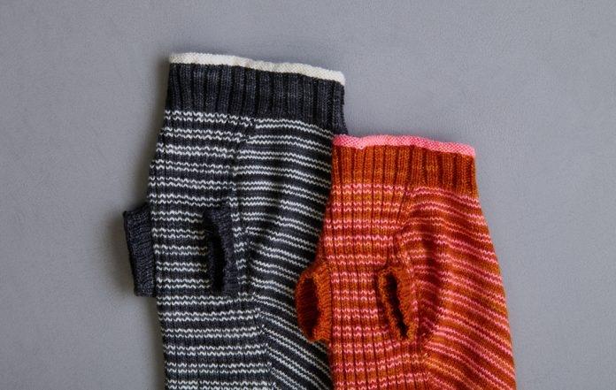Sole Salvo For Purl Soho: Pinstripe Dog Sweater | Purl Soho