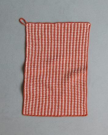 Slip Stitch Dishtowels In Blackbird Linen | Purl Soho