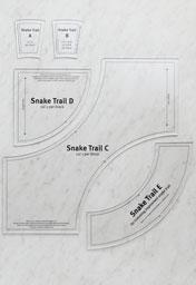 Snake Trail Template Set