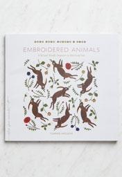 Embroidered Animals by Yumiko Higuchi