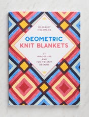 Geometric Knit Blankets: 30 Innovative and Fun-to-Knit Designs