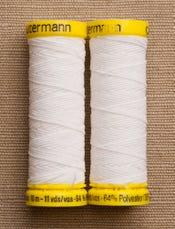 White Elastic Thread 5019
