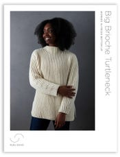 Big Brioche Turtleneck Pattern Download