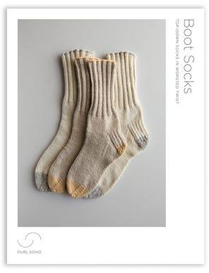 Boot Socks Pattern Download
