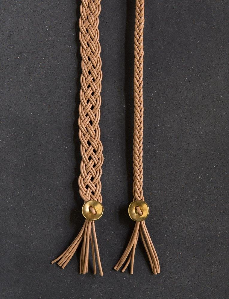 Purl Soho Braided Leather Bracelet Kit Sand Dune