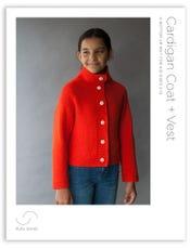 Cardigan Coat + Vest Pattern Download