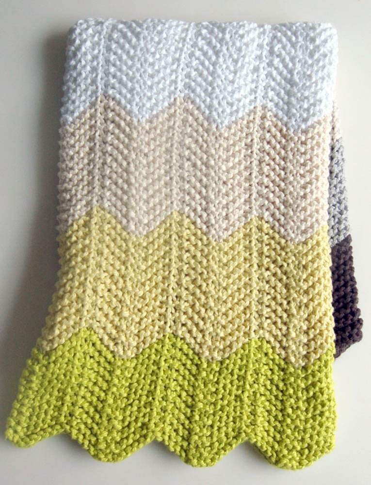 Chevron Baby Blanket Bundle