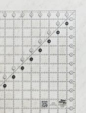 Creative Grids Non-Slip Square Ruler
