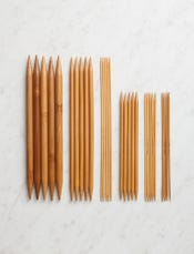 Crystal Palace Double Pointed Bamboo Knitting Needles