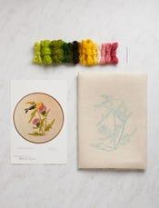 Goldfinch Crewel Kit