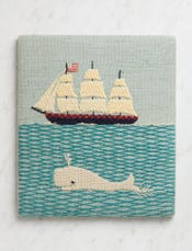 Ship-N-Whale Crewel Kit