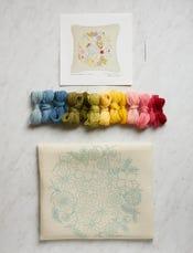 Spring Bouquet Crewel Kit