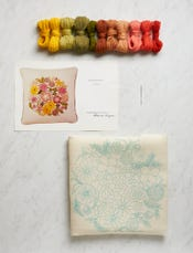 Sunshine Bouquet Crewel Kit