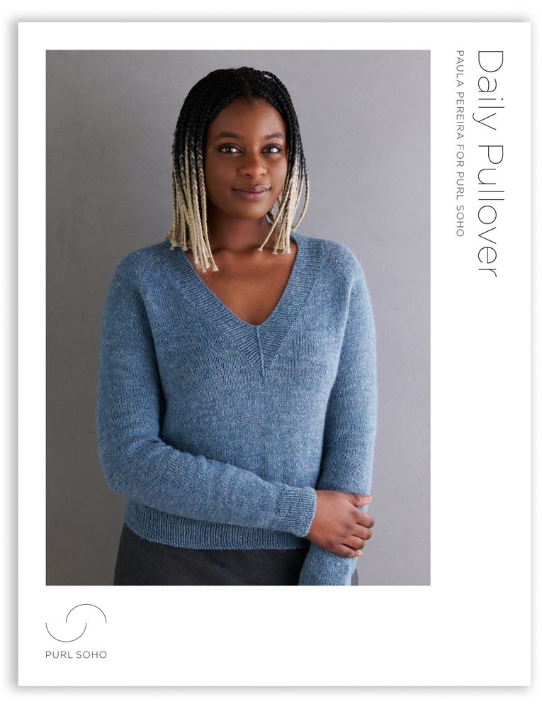 Purl Soho Daily Pullover Pattern, PDF