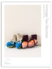 Vintage Taxi Booties Pattern Download