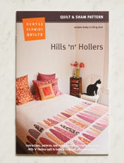 Hills 'n' Hollers Quilt and Sham