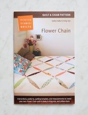 Flower Chain Quilt + Sham Pattern