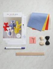 Animal Stick Puppets Kit