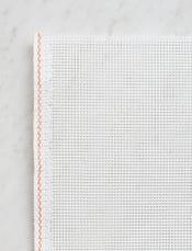 White, 10 mesh-swatch
