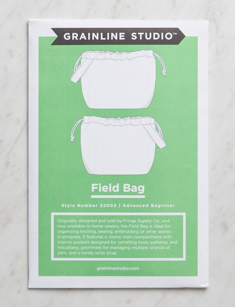 Grainline Studio, Field Bag Pattern