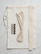 Notions Kit With Cotton Webbing For Handle-swatch