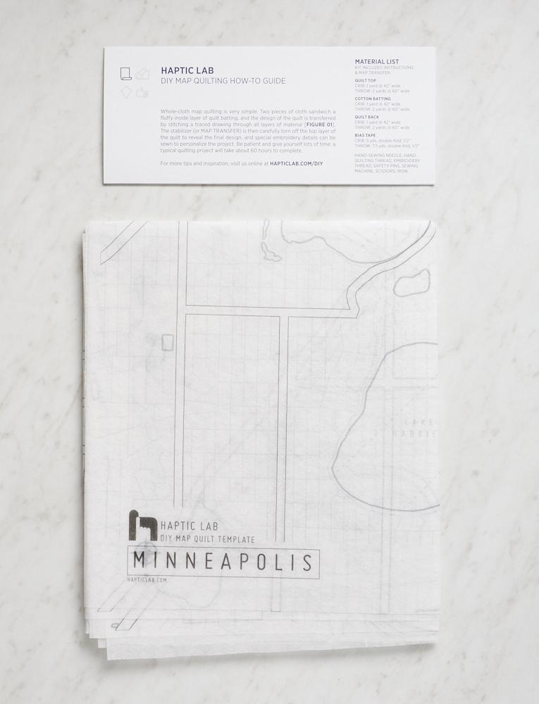 DIY Map Quilt Patterns