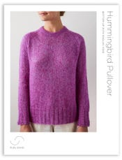 Hummingbird Pullover Pattern Download