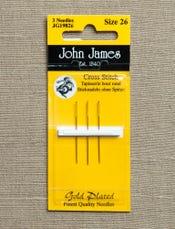 Cross Stitch Needles, size 26