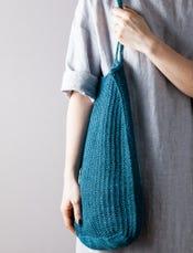 Knit Linen Market Bag Gift Bundle