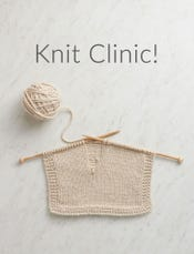 UPCOMING - Knit Clinic
