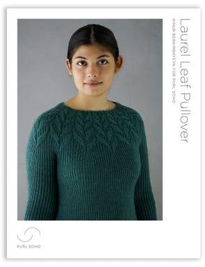 Laurel Leaf Pullover Pattern Download