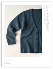 Low-V Cardigan Pattern Download