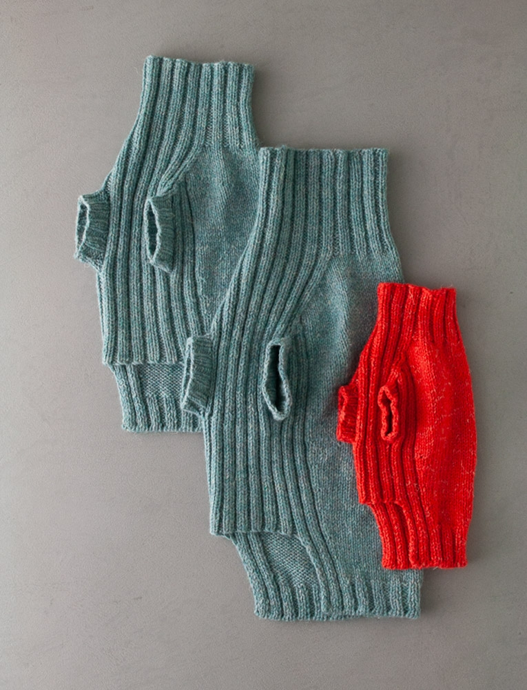 Purl Soho Lucky Dog Sweater Pattern, pdf