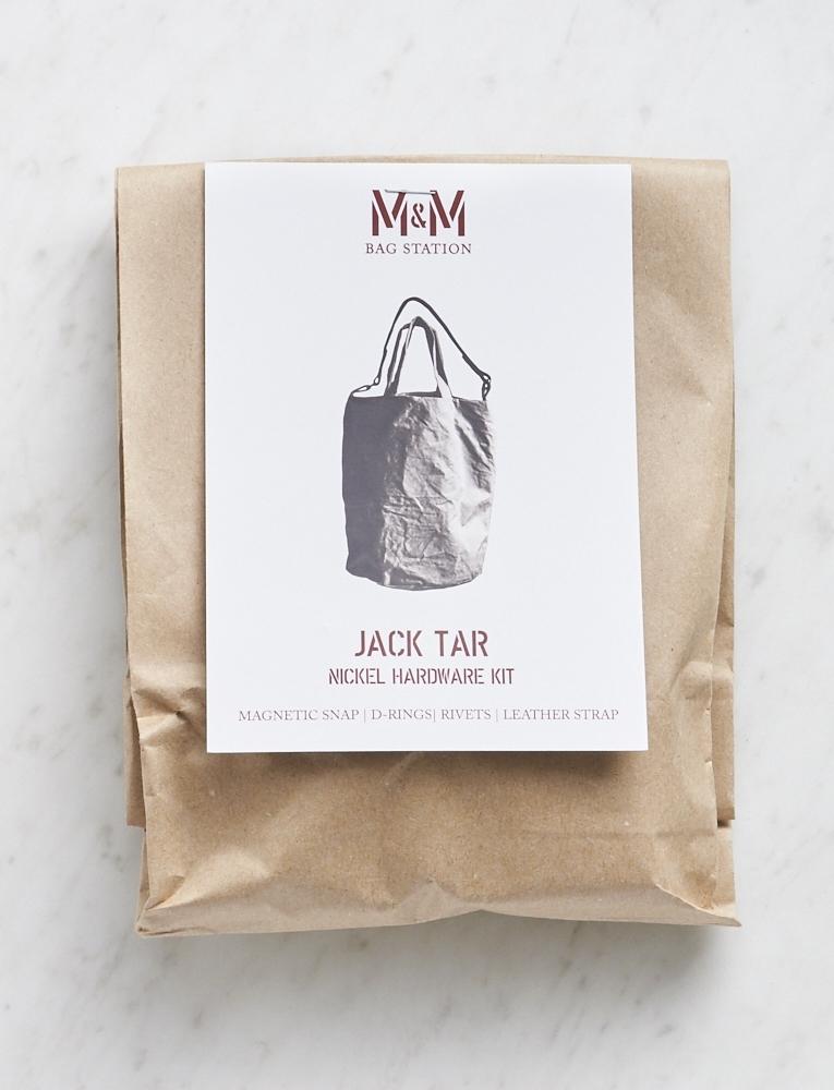 Merchant & Mills, Jack Tar Bag Hardware Kit, Nickle
