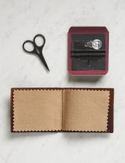 Leather Needle Wallet